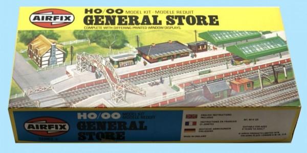 AIRFIX: 03620-7 HO/OO GENERAL STORE -ORIGINAL BOX - SEALED