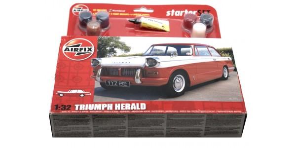 AIRFIX: A55201 TRIUMPH HERALD 1:32 - ORIGINAL BOX - SEALED