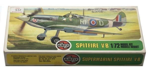 AIRFIX: 02046-2 SUPERMARINE SPITFIRE VB (SERIES 2) - ORIGINAL BOX - SEALED