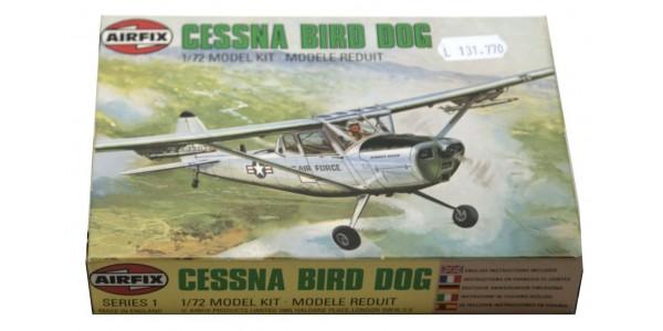AIRFIX: 61058-4 CESSNA BIRD DOG OBSERVATION AIRCRAFT - NEW - SEALED