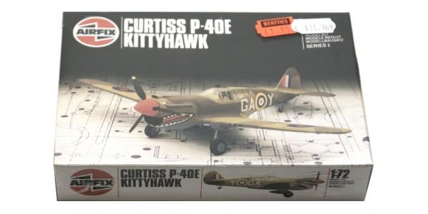 AIRFIX: 61038 CURTISS P-40E KITTYHAWK - FIGHTER - NEW - SEALED