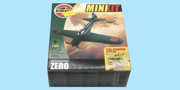 AIRFIX MINI-KIT: A50026 - MITSUBISHI ZERO - ORIGINAL BOX - SEALED