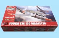 AIRFIX: A03050 FOUGA CM.170 MAGISTER - NEW