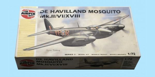 AIRFIX: 03019 DE HAVILLAND MOSQUITO MK.II/VI.XVIII - UNMADE
