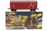 ATHEARN: 2 x 9003 40FT BOGIE BOXCAR 'CENTRAL RAILROAD CO.' - KIT BUILT - EXCELLENT