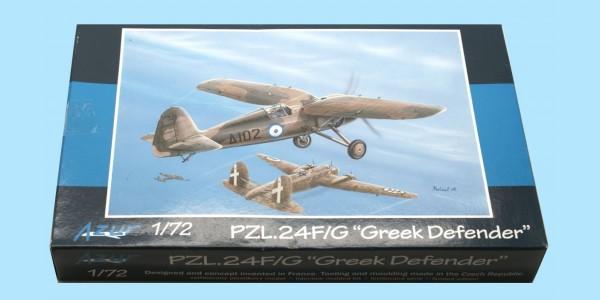 AZUR: A076 PZL 24F/G 'GREEK DEFENDER' - UNMADE