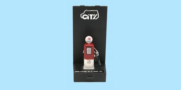 CITY: GP024 TOKHEIM 39L-EZ MOBIL 1951 PETROL/GAS PUMP - NEW