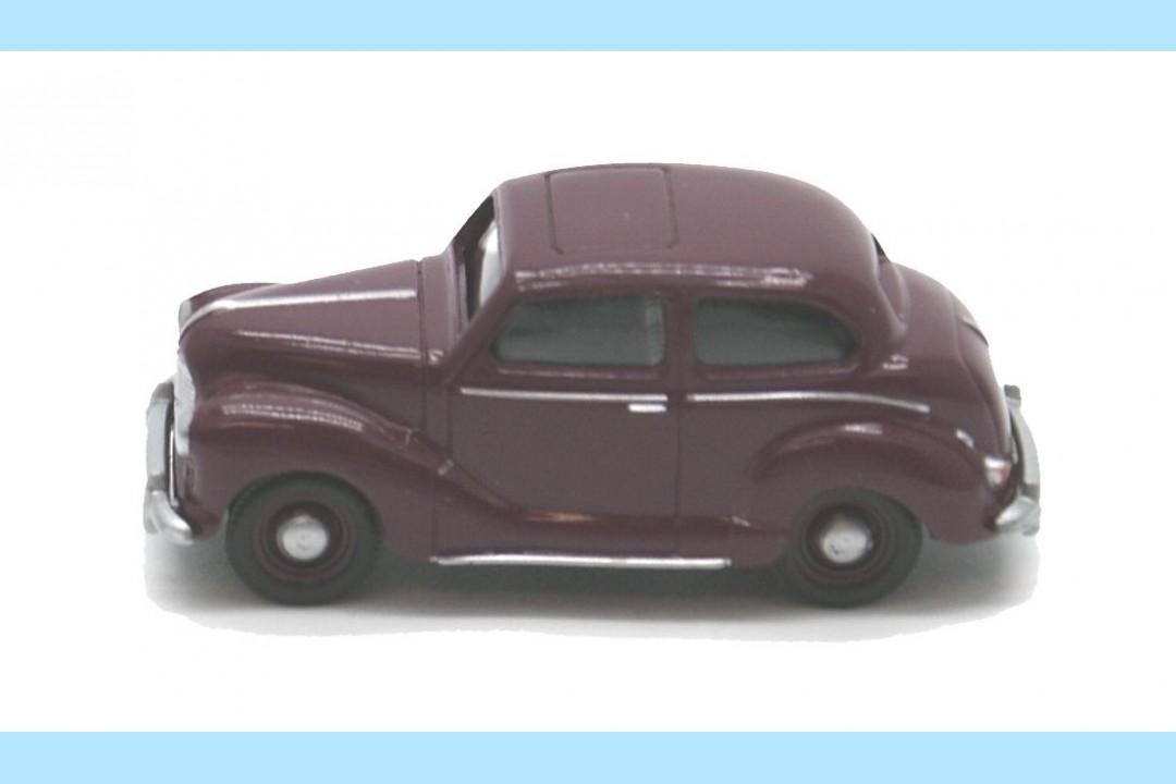 Classix em76816 austin a40 devon 4 door cherry red new for 1948 austin devon 4 door