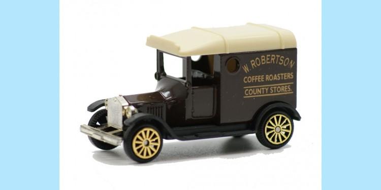 CORGI CAMEO: D750WR - FORD MODEL T VAN - W ROBERTSON - MINT -  BOXED
