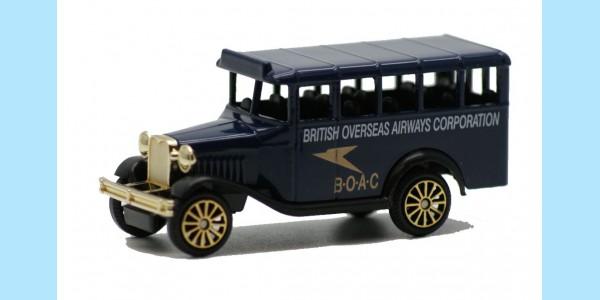CORGI CLASSICS: 32098 - BEDFORD BUS - BOAC - MINT -  BOXED