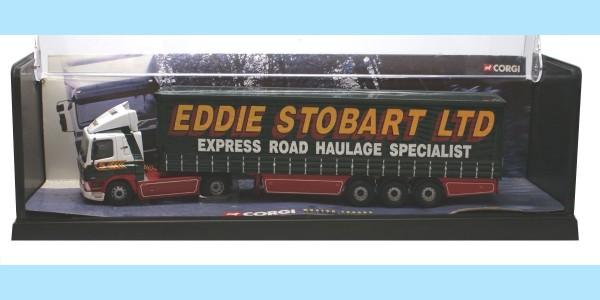 CORGI MODERN TRUCKS: 75403 LEYLAND DAF - 'EDDIE STOBART' - MINT