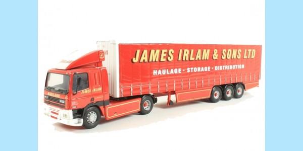 CORGI MODERN TRUCKS: 75401 LEYLAND DAF 'JAMES IRLAM' - NEW - SEALED