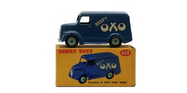 DINKY: 453 - TROJAN 15CWT VAN - 'OXO' - BOXED - EXCELLENT