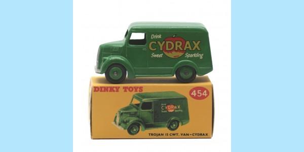 DINKY: 454 - TROJAN 15CWT VAN - 'CYDRAX' - BOXED - EXCELLENT