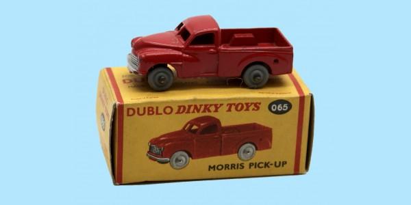 DINKY DUBLO: 065 MORRIS PICK-UP - ORIGINAL BOX - EXCELLENT