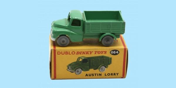 DINKY DUBLO: 064 AUSTIN LORRY - ORIGINAL BOX - NEAR MINT