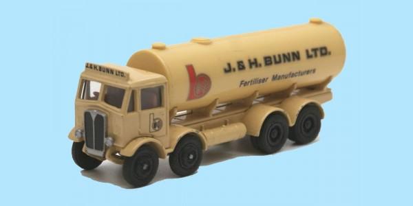 EFE - 10602 - AEC MAMOUTH MAJOR 4 AXLE 'TANKER - 'J & H BUNN' - BOXED