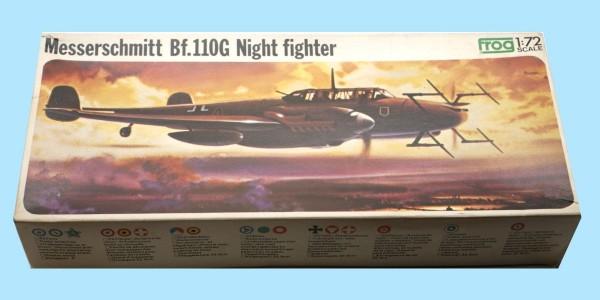 FROG: F202 MESSERSCHMITT BF.110G NIGHT FIGHTER - UNMADE