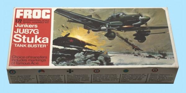 FROG: F195 JUNKERS JU87G STUKA - GERMAN DIVE BOMBER - UNMADE