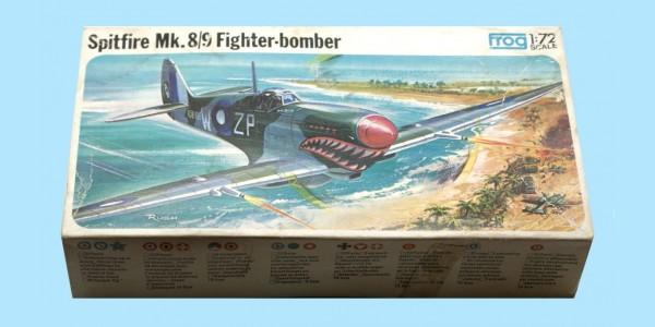 FROG: F237 SUPERMARINE SPITFIRE MK.8/9 FIGHTER BOMBER - UNMADE