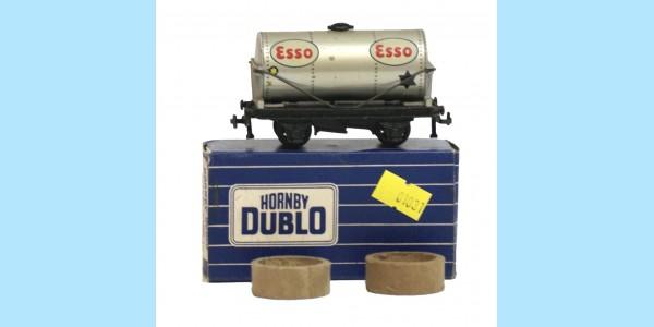 HORNBY DUBLO: 32081 ESSO TANK WAGON - ORIGINAL BOX - VERY GOOD - RARE