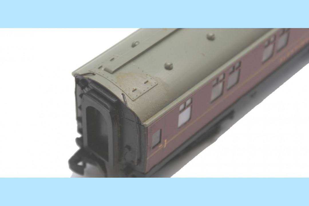 hornby dublo 4078 w2402 sleeping car original box. Black Bedroom Furniture Sets. Home Design Ideas