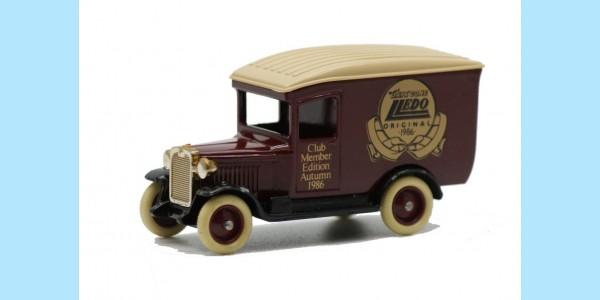 LLEDO: DG021 001 - 1928 CHEVROLET VAN - CLUB MEMBER EDITION - MINT -  BOXED