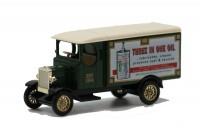 LLEDO: DG043022 - 1931 MORRIS VAN - THREE-IN-ONE OIL - MINT -BOXED