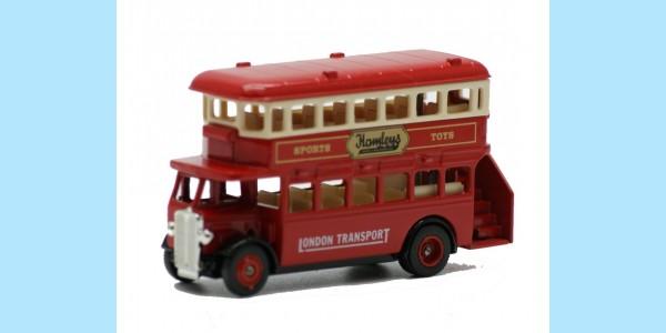 LLEDO: LP015 022A - 1932 AEC REGENT DOUBLE DECK BUS - HAMLEYS - MINT - BOXED