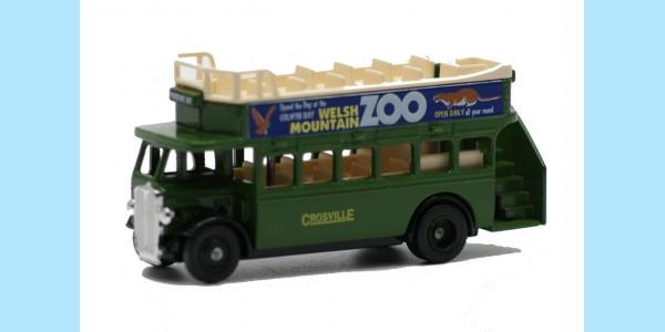 LLEDO: DG068 003 - 1932 AEC REGENT OPEN TOP BUS - CROSVILLE - MINT -  BOXED