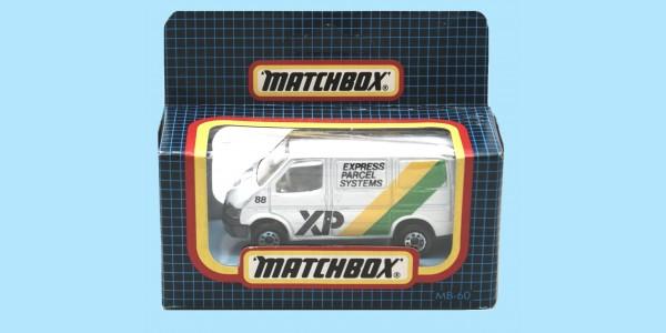 MATCHBOX: MB60G - FORD TRANSIT - EXPRESS PARCELS - BOX N - NEW