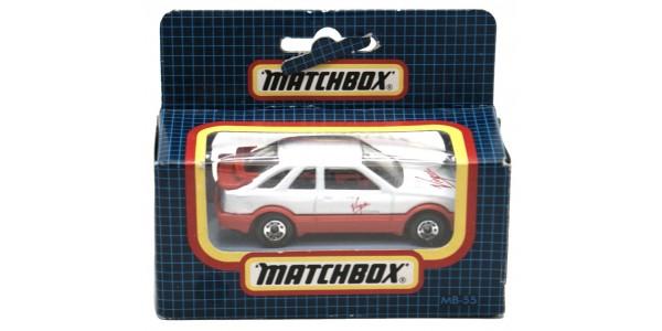 MATCHBOX: MB55 - FORD SIERRA XR4I - VIRGIN ATLANTIC - BOX SEALED - MINT - NEW
