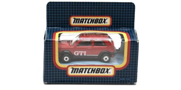 MATCHBOX: MB56E - VW GOLF GTI - RED - ORIGINAL BOX SEALED - MINT