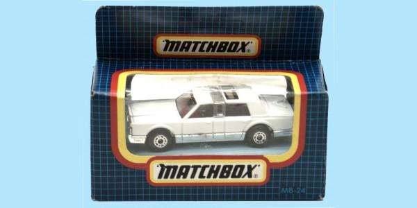 MATCHBOX: MB24G - LINCOLN TOWN CAR - BOX N - NEW - SEALED