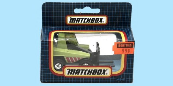 MATCHBOX: MB61F - SAMBRON JACKLIFT (FLT) - BOX N - NEW - SEALED