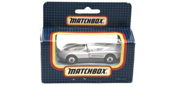 MATCHBOX: MB64F - OLDSMOBILE AEROTECH - GREY - ORIGINAL BOX SEALED - MINT