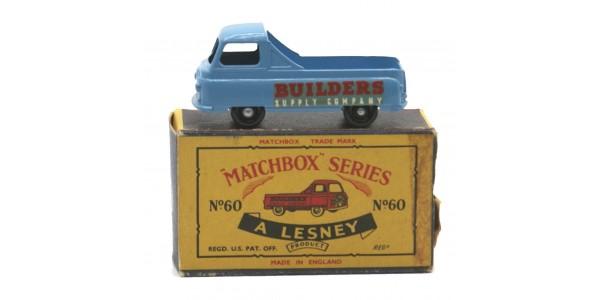 MATCHBOX: 60A MORRIS J2 PICK-UP - ORIGINAL BOX - NEAR MINT