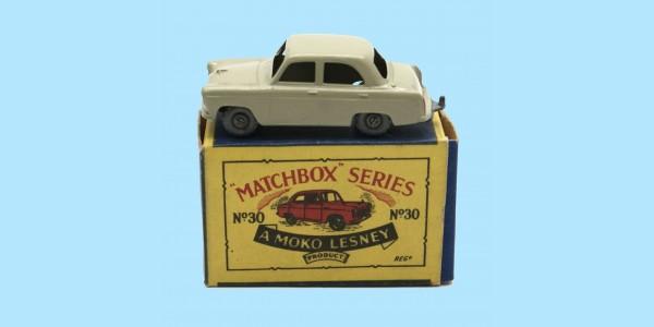 MATCHBOX: 30A FORD PREFECT - ORIGINAL B2 BOX - MINT