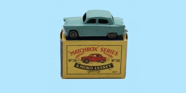 MATCHBOX: 36A AUSTIN A50 CAMBRIDGE - ORIGINAL BOX - SUPERB EXAMPLE