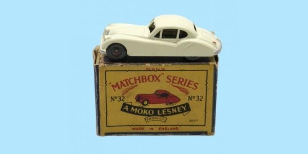 MATCHBOX: 32A JAGUAR XK140 - ORIGINAL BOX - NEAR MINT