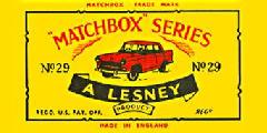 Matchbox (Pre 1970)