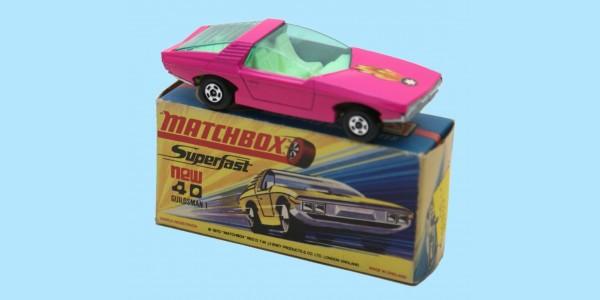 MATCHBOX SUPERFAST: 40D VAUXHALL GUILDSMAN - YELLOW SEATS - BOX H1 - MINT