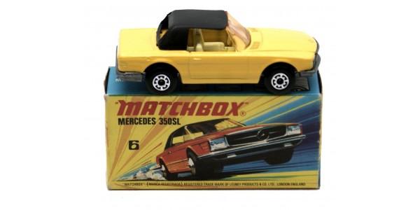 MATCHBOX SUPERFAST: 06 MERCEDES 350SL - ORIGINAL BOX - MINT