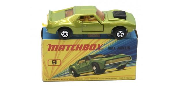 MATCHBOX SUPERFAST: 09 AMX JAVELIN - ORIGINAL BOX - MINT