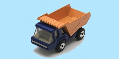 MATCHBOX SUPERFAST: 23B ATLAS TRUCK - BLUE/ORANGE - BOX K - MINT
