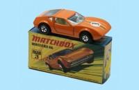 MATCHBOX SUPERFAST: 03D MONTVERDI HAI - ORANGE - BOX  I1 - MINT