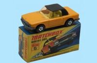 MATCHBOX SUPERFAST: 06E MERCEDES 350SL - ORANGE/BLACK - BOX  I1 - MINT