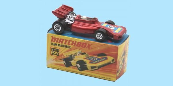 MATCHBOX SUPERFAST: 24D TEAM MATCHBOX - RED - BOX  I1 - MINT