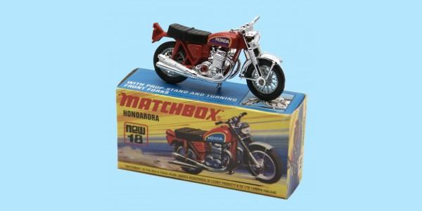 MATCHBOX SUPERFAST: 18F HONDARORA - RED/SILVER - BOX I1 - MINT