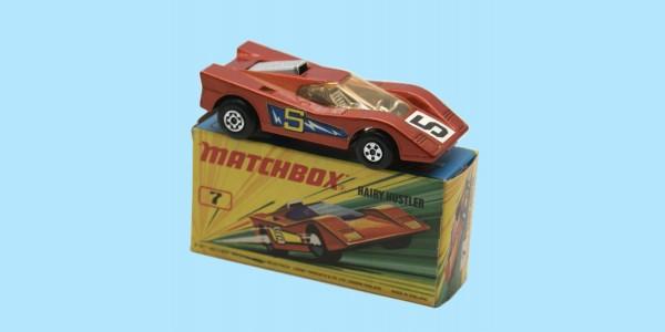 MATCHBOX SUPERFAST: 07D HAIRY HUSTLER - BRONZE - BOX I2 - MINT